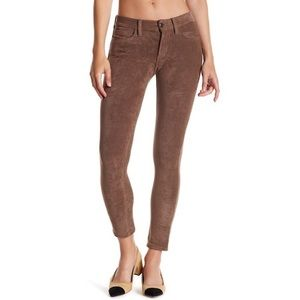 JOES Jeans Faux Suede Brown Pants, 26